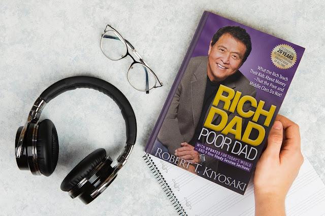reading rich dad poor dad book