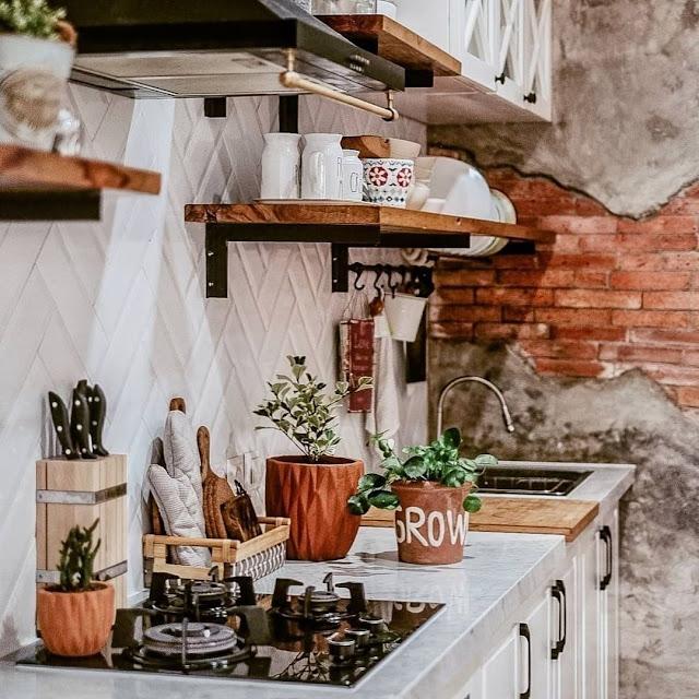 Ide Model Kitchen Set Minimalis untuk Dapur Kecil Terbaru