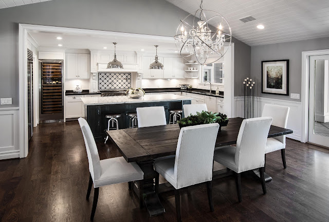 kitchen with living room design ideas