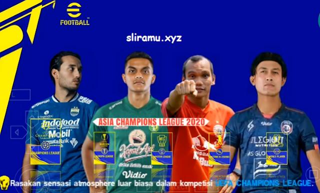PES 22 Nusantara BRI Liga 1,2,3 Indonesia Full Asia Transfer 21/22 for PPSSPP
