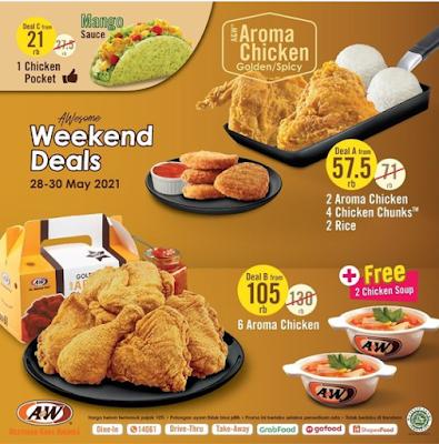 Promo Weekend Deals Dari AW Store Periode 28 - 31 Mei 2021