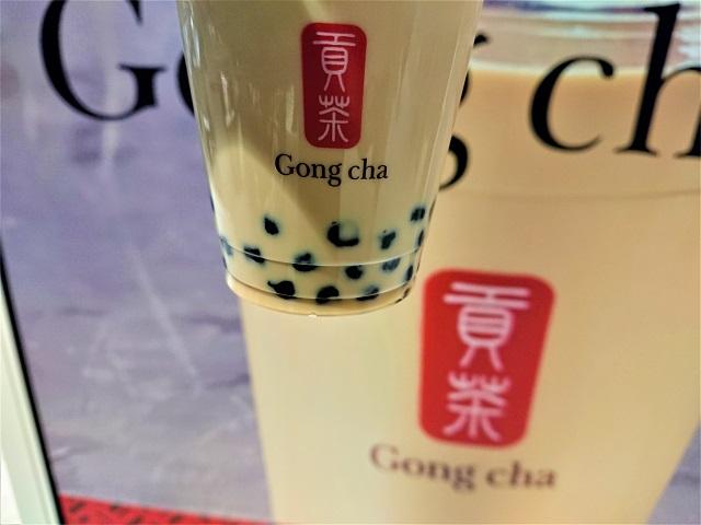 Gong cha ペリエ千葉店 ブラックミルクティー(S)