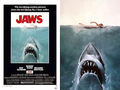 JAWS 3D Lenticular Movie Poster by Bottleneck Gallery x Vice Press