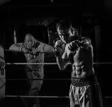 boxer power punching