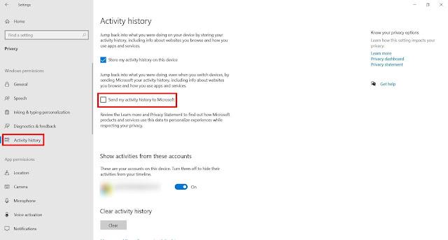 Cara Mencegah Windows 10 Mengirim Data Aktivitas ke Microsoft