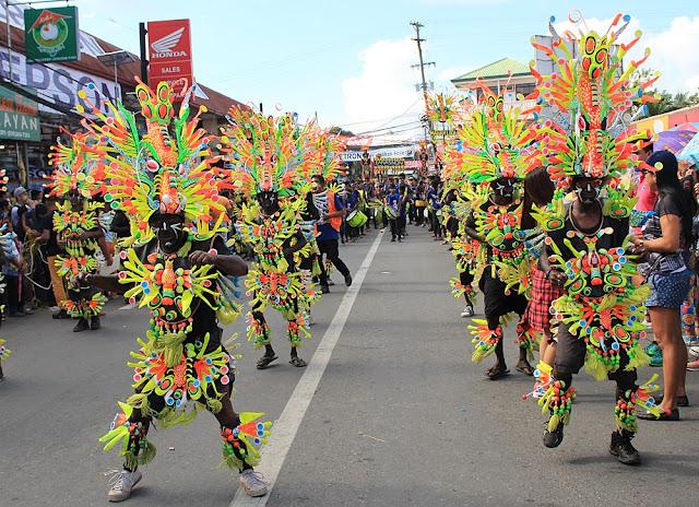 Desa Tayting in Ati-Atihan Festival