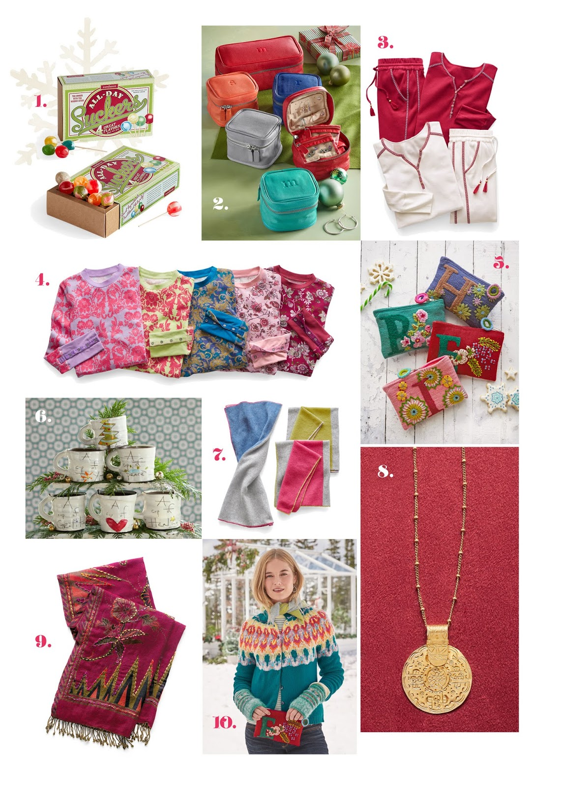 sundance catalog top 10 holiday gifts from the seasonal gift guide