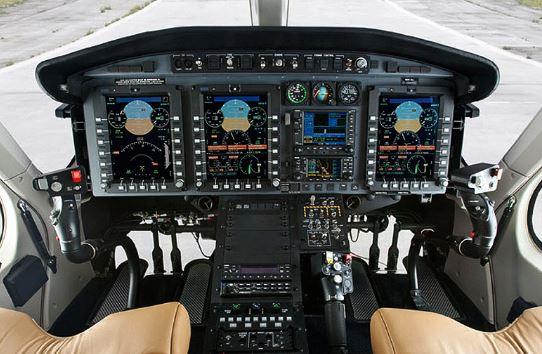 Bell 429WLG cockpit