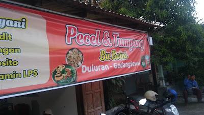 kuliner pecel murah 3 ribu