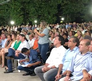 Resultado de imagem para fotos e imagens de cid e de eunício em evento político