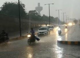 હવામાન વિભાગની આગાહી, દક્ષિણ, મધ્ય ગુજરાત ઉપરાંત સૌરાષ્ટ્રમાં ગાજવીજ સાથે ભારે વરસાદની શક્યતા