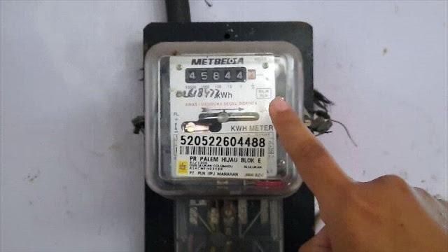 Lihat ID Pelanggan PLN di Meteran Listrik