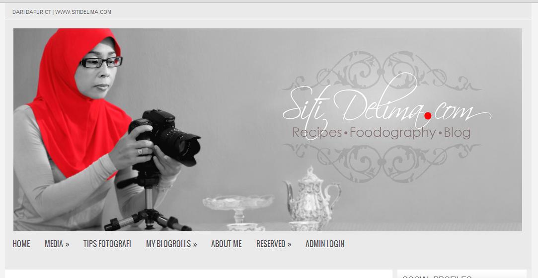 Pertama Kali Kjee Jengah Blog Dari Dapur Ct Senyum Sendirian Sebabnya Tiap Gambar Yang Ditampal Dalam Dia Pada Background Itu