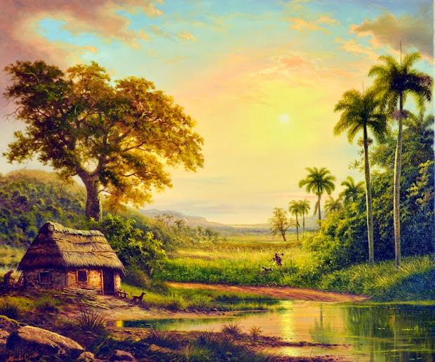 Cuban Landscape Paintings