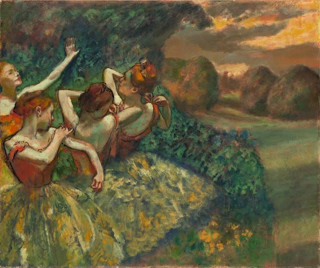 Эдгар Дега - Четыре танцовщицы (ок.1899)