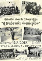 Dračevski vremeplov, izložba starih fotografija - Dračevica slike otok Brač Online