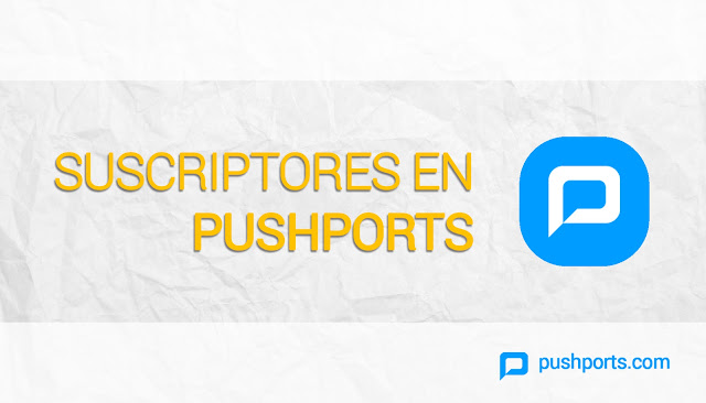 Suscriptores en pushports