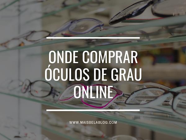 Onde comprar óculos de grau online