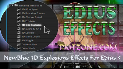 Download NewBlue 3D Explosions Effects For Edius 5