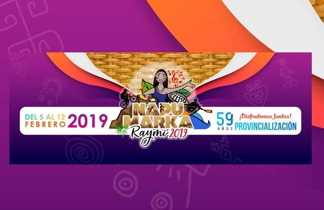 Programa completo fiestas de la provincia de Napo 2019