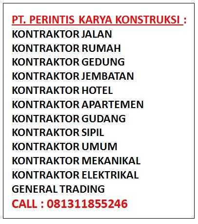 Daftar Nama Perusahaan Kontraktor