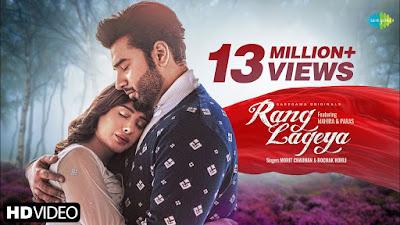 Rang Lageya Lyrics - Mohit Chauhan -