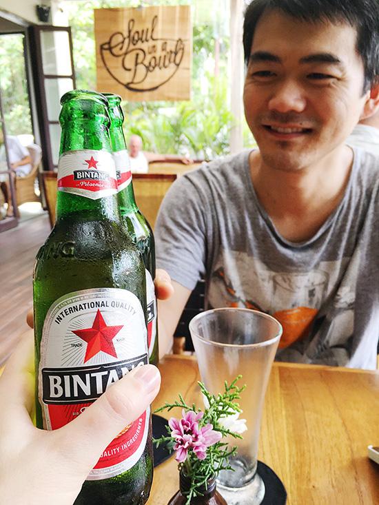 Bintang beer in Bali