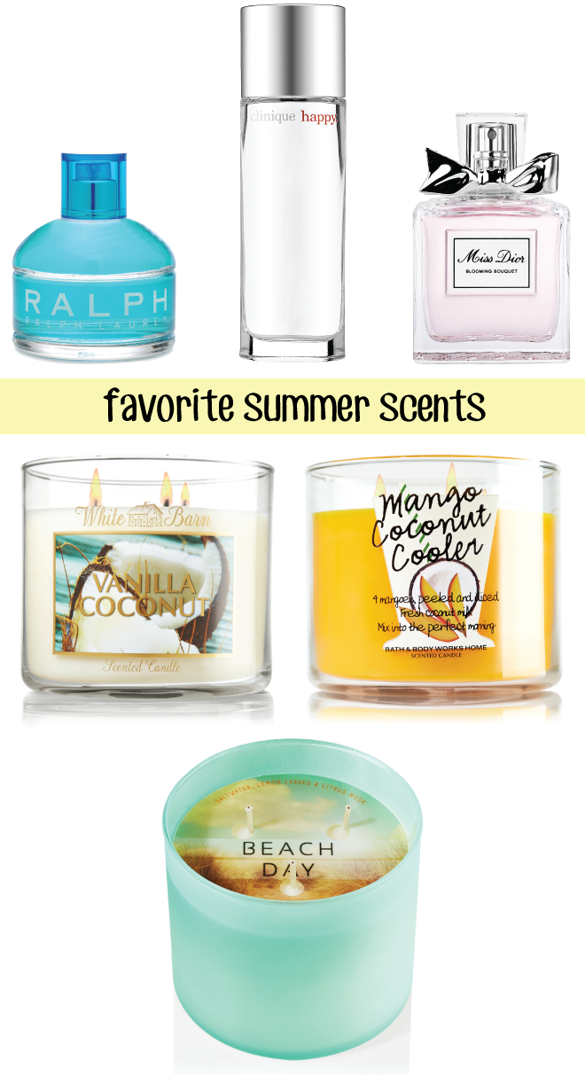 Summer Scents // A Style Caddy