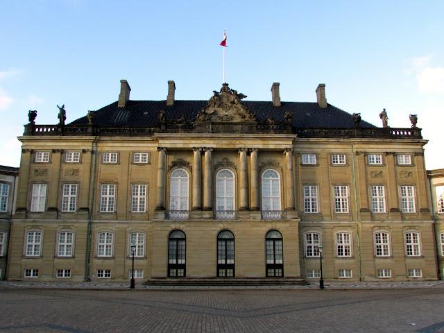 Amalienborg Palace, Copenhagen