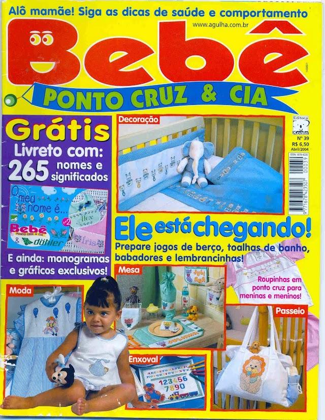 Ponto Cruz & CIA Bebê N°39