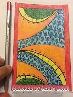 The Adult Coloring Buffet by Deborah L McDonald