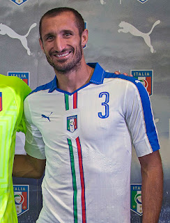 Chiellini retired from international football in 2017 but is continuing his domestic career