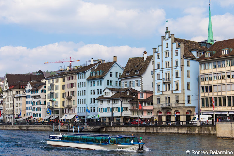 Limmat Cruise What to Do One Day in Zurich