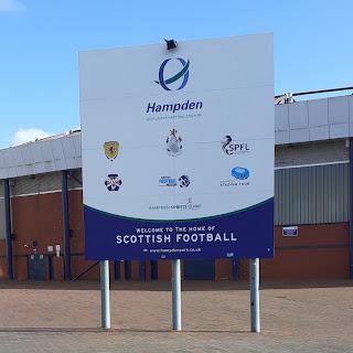 Hampden Park - Glasgow - Queens Park FC