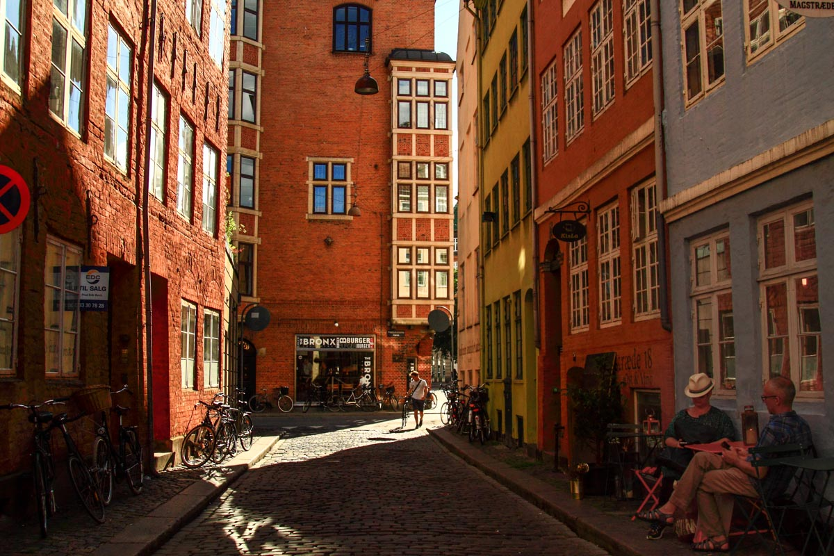 Magaestrade, one of the oldest streets of Copenhagen