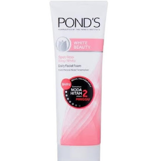 REVIEW: Efek Pemakaian Produk Pond's White Beauty Spot-Less Rossy White Daily Facial Foam