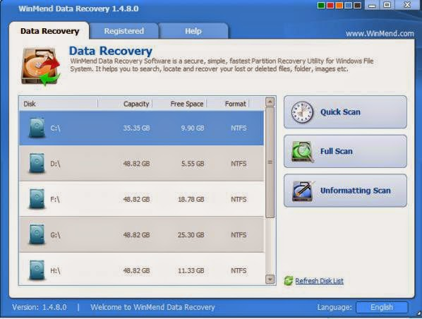 Pcs-free-download-WinMend-Data-Recovery-software