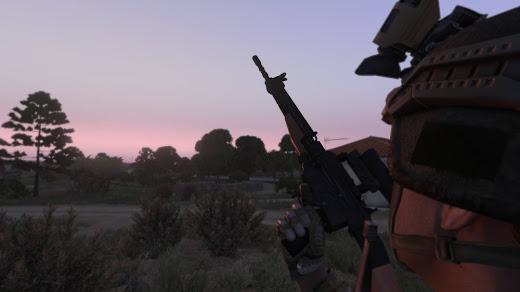 Arma3用NIArms SG510 Rifles MODのSG510パック