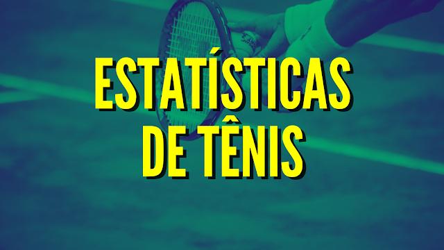 estatisticas tenis