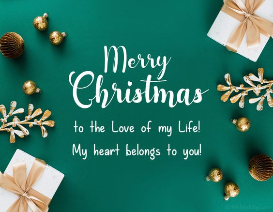 Christmas Love Message for him