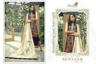 Saniya Trendz Memsaab vol 2 Pakistani Suits wholesale