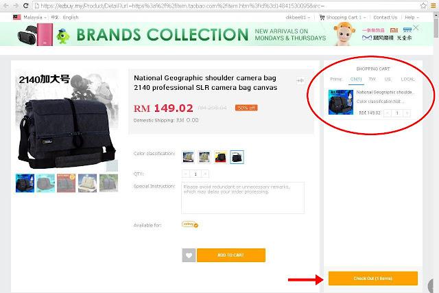 Shopping Online Mudah Dan Murah Di EZBUY.MY