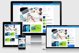 Template Viomagz Grid redesign 2019 Terbaru ,Responsive dan Mobile Frienly