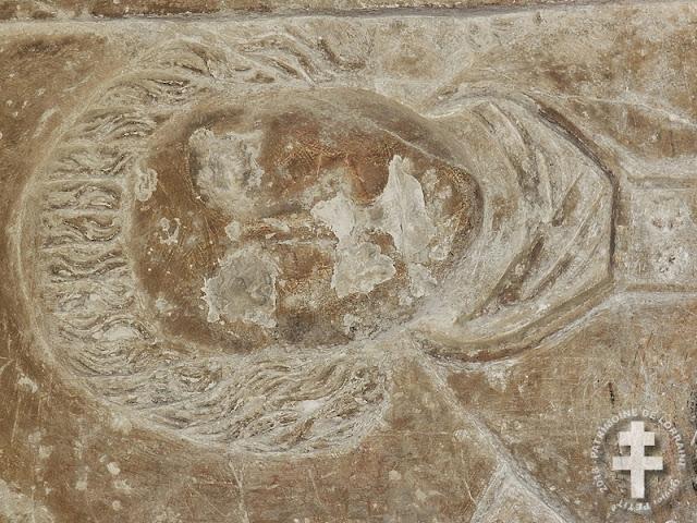 PAGNY-LA-BLANCHE-COTE (55) - Tombeau d'un prêtre (XVIe siècle)