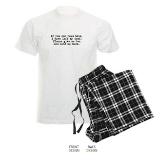 Pyjamas. Your writer's uniform.