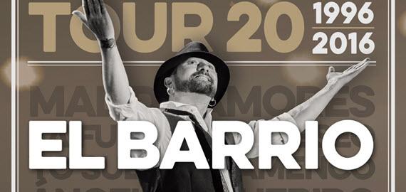 El Barrio en concierto, sábado 8 de octubre en el Barclaycard Center