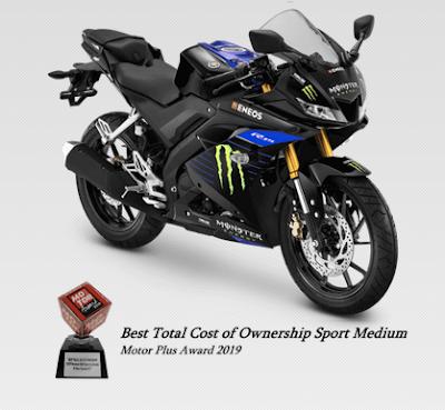 Harga dan Spesifikasi Lengkap Yamaha R15 V3 VVA Monster Energy Motogp Edition Terbaru 2020