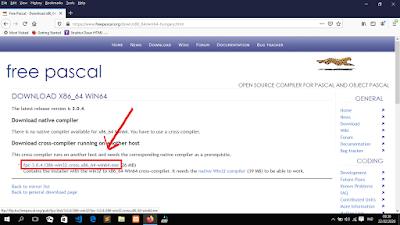 Cara Download dan Install Free Pascal Pada Laptop/PC