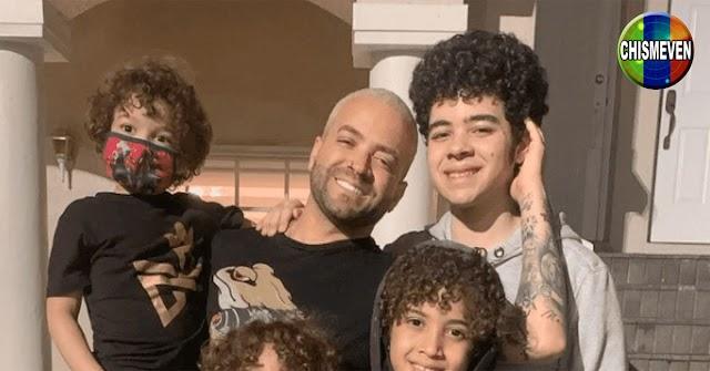 Nacho quiere criar juntos a todos los hijos que tiene regados por el mundo