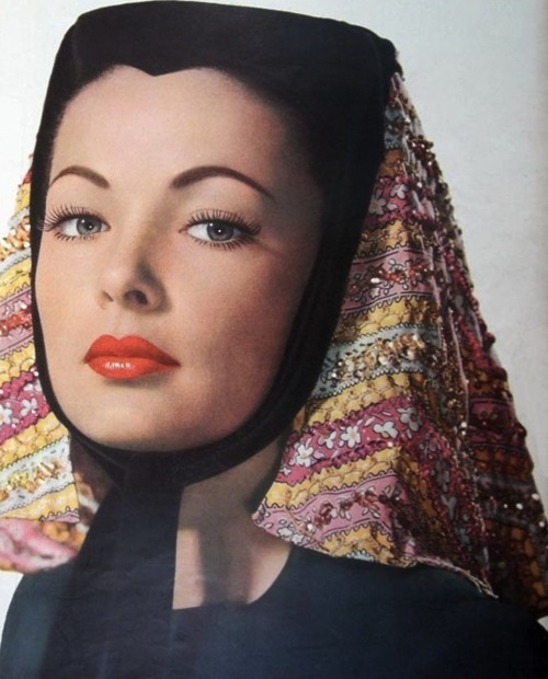 Classic Actresses From The Silver Screen Gene Tierney